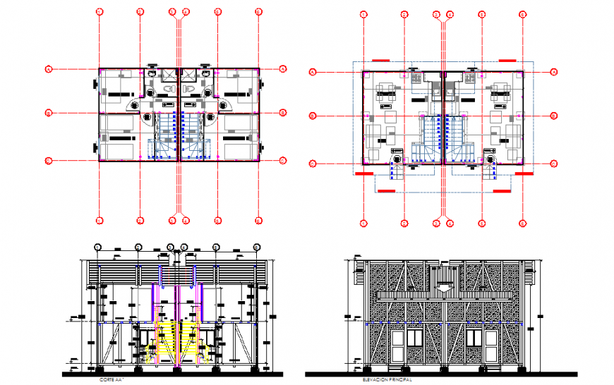 House Plan & Stair Detail