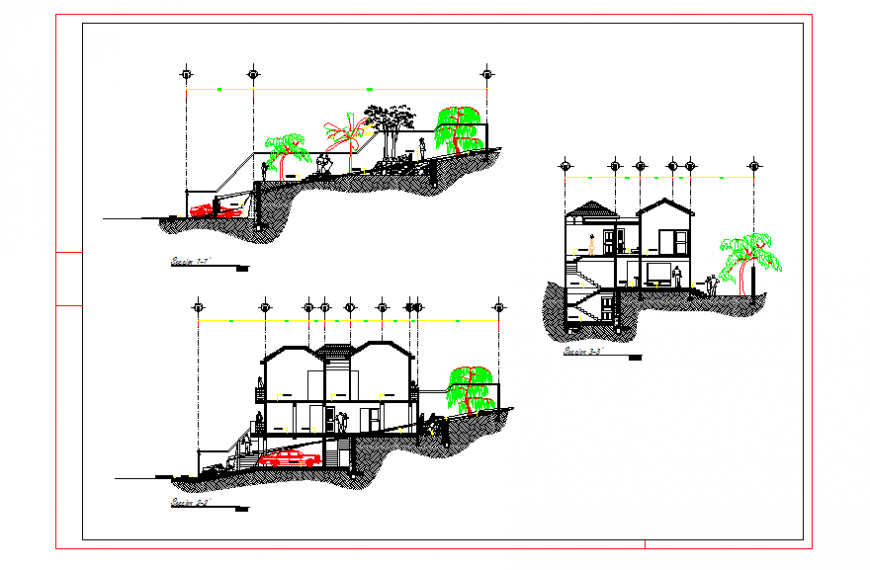 House Section & Elevation detail