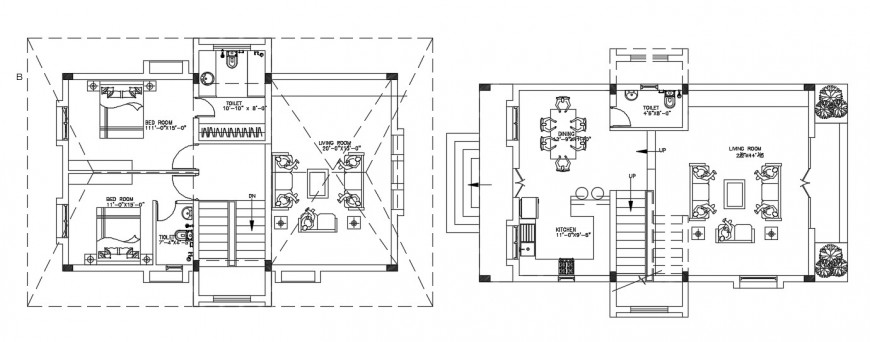 Housing project detail autocad file