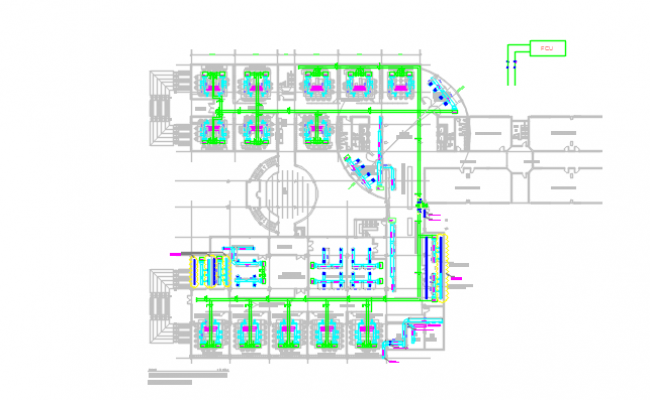 hvac layout dwg file