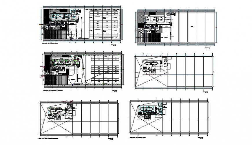 Industry plan detail drawing in AutoCAD file.