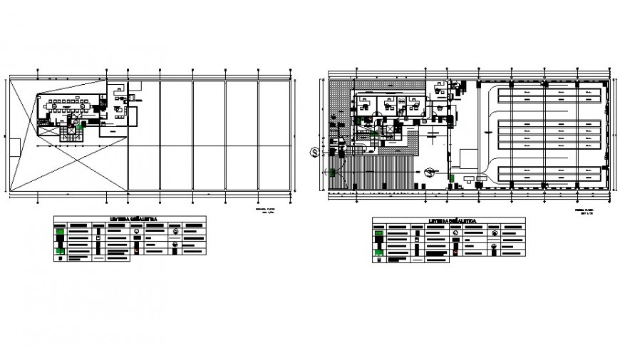 Industry security layout plan detail drawing in AutoCAD file.