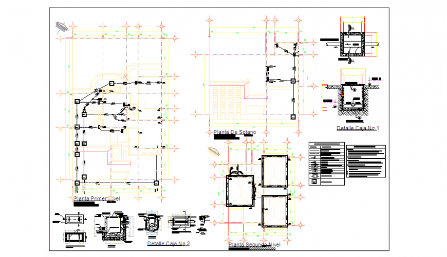 Installation of Drainage detail for family home design drawing