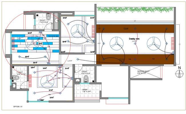 interior ceiling lighting installation plan
