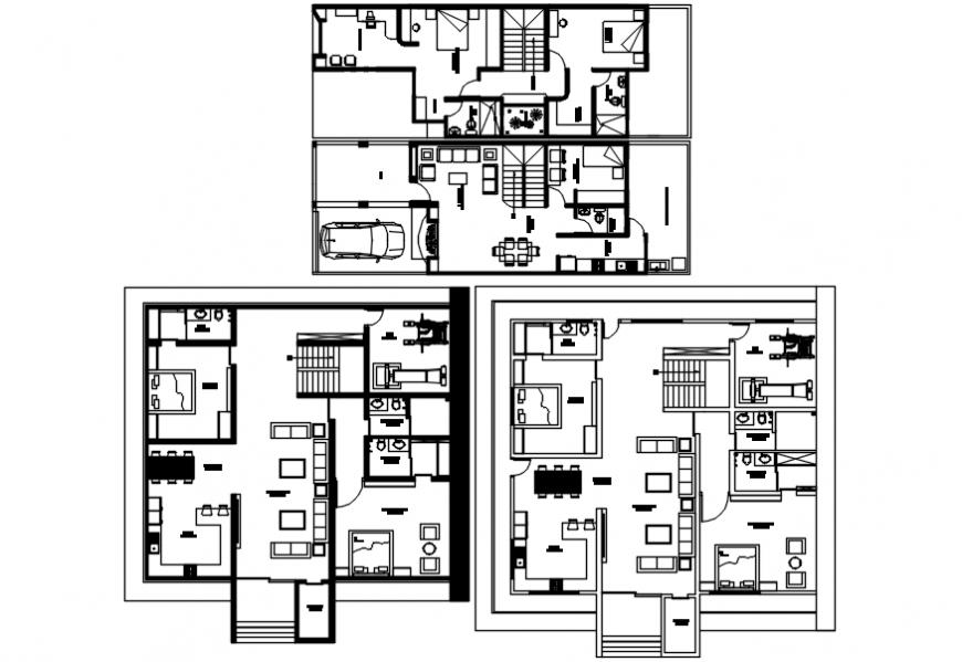 interior project 2d file details