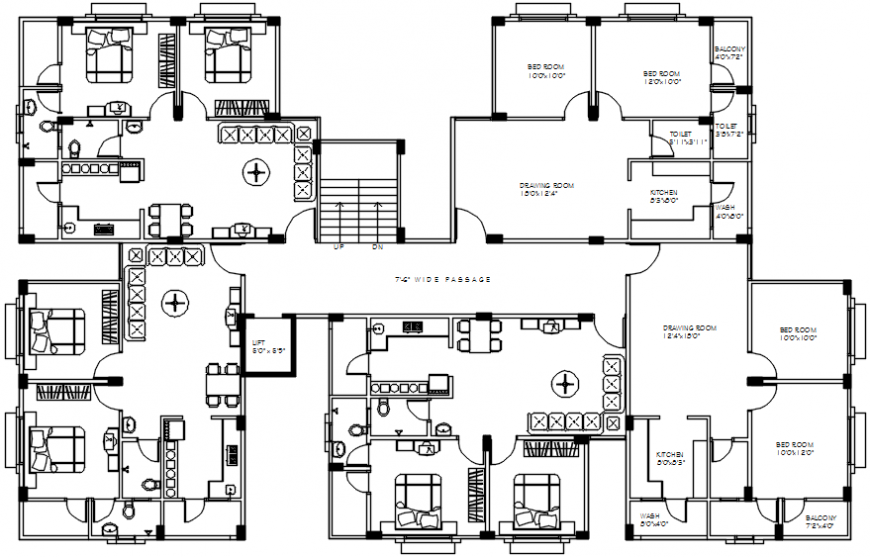 interior project and modern plan