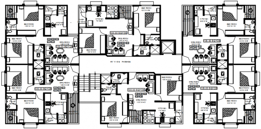 interior project details 2d file