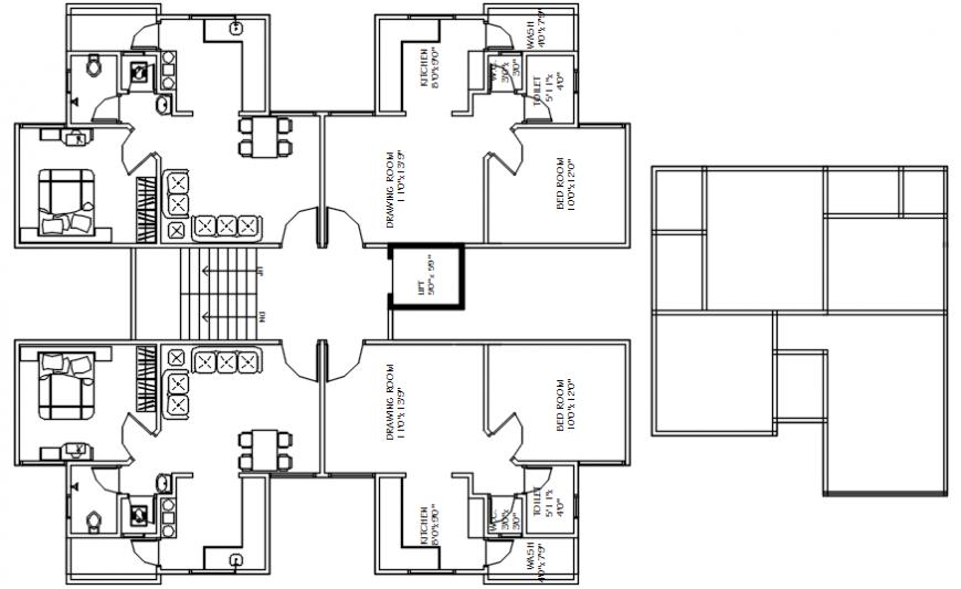 interior project house details 2d