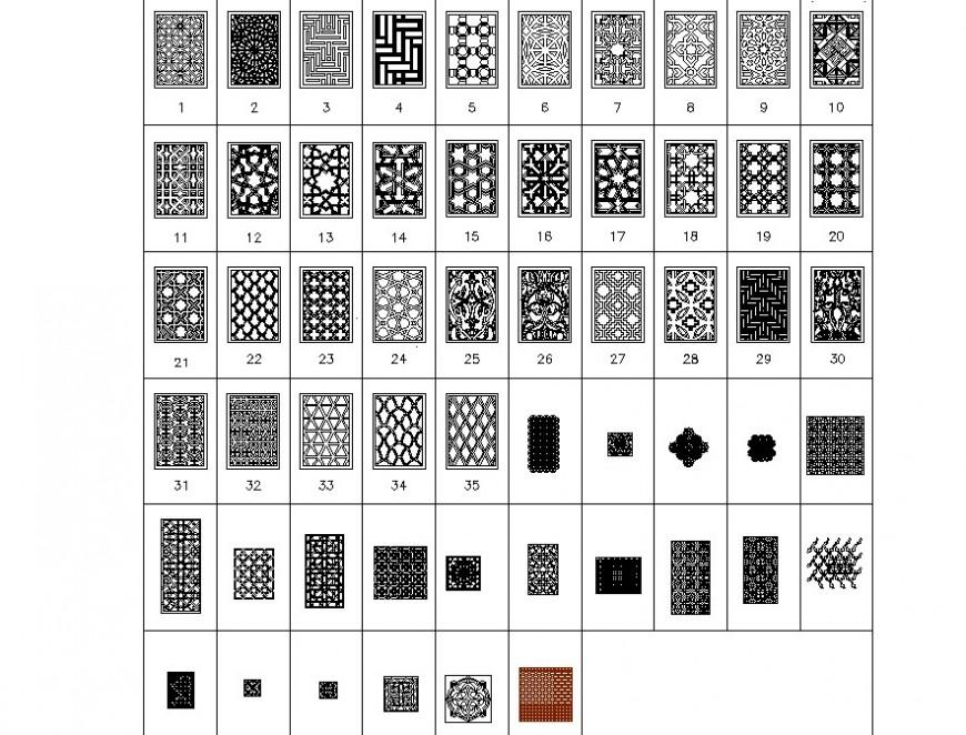 interiors pattern