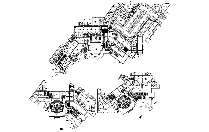 Japanese luxuries restaurant layout plan details dwg file