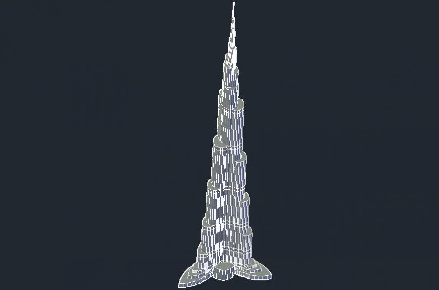 Khalifa Tower dubai skyscraper building