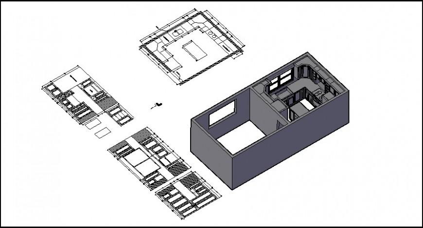 Kichen 3d detail model