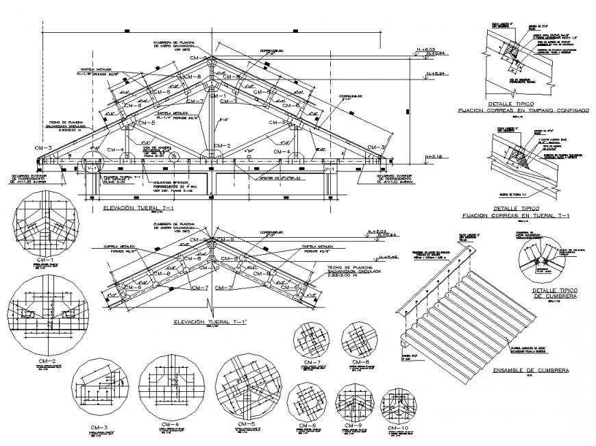 Rcc Slab Bar Structure Design Free Download Dwg File Cadbull