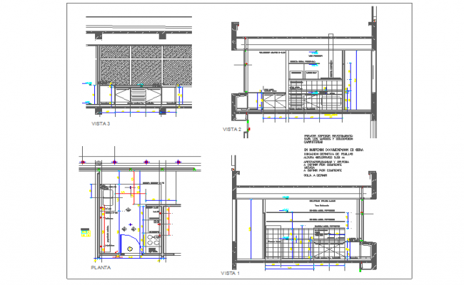 kitchen details dwg autocad drawing