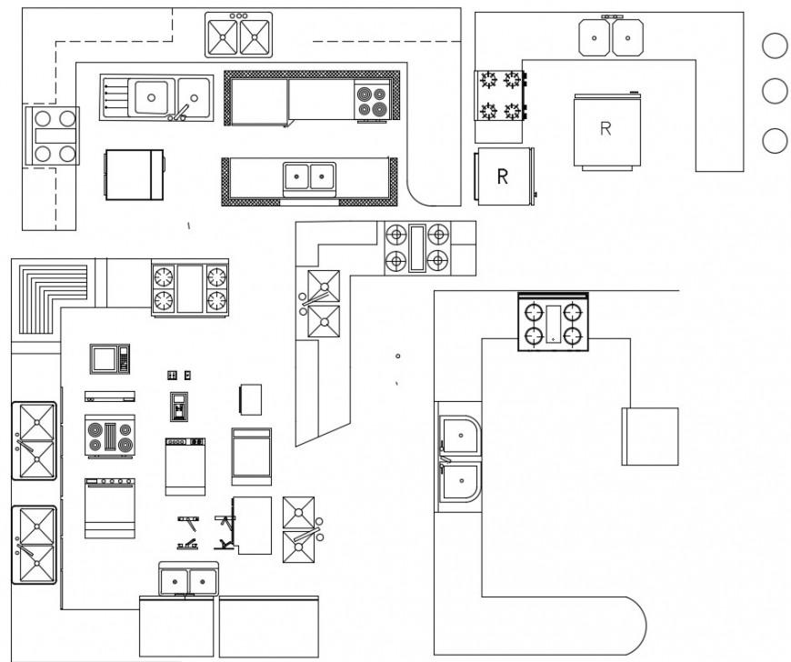 Kitchen cad blocks detail files