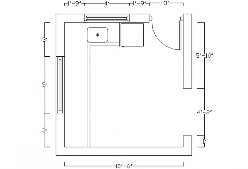 Kitchen cad blocks detailing files