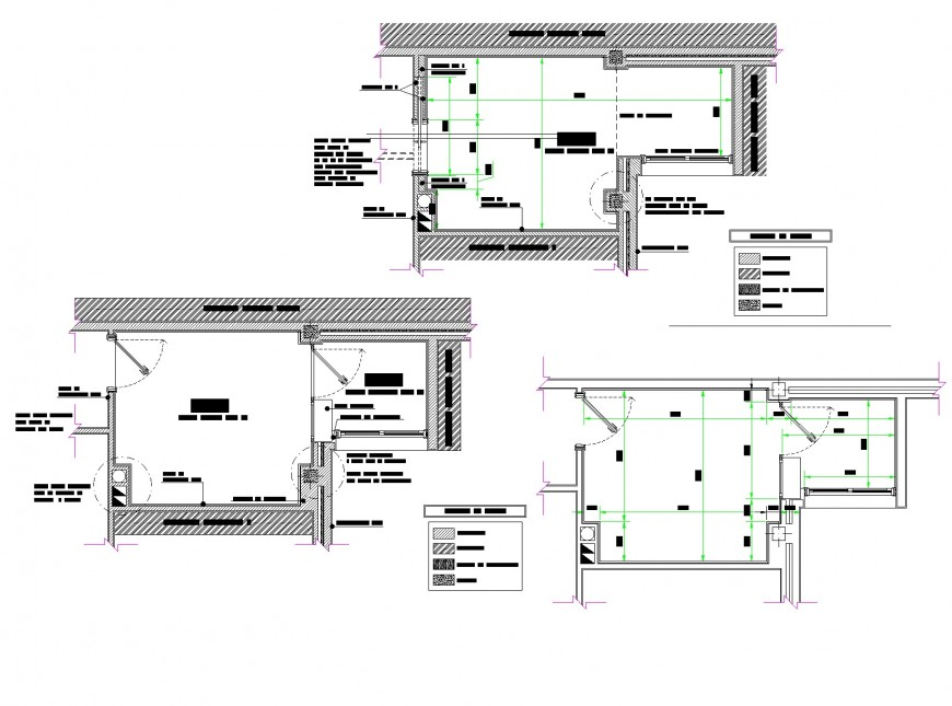 Kitchen planning autocad file