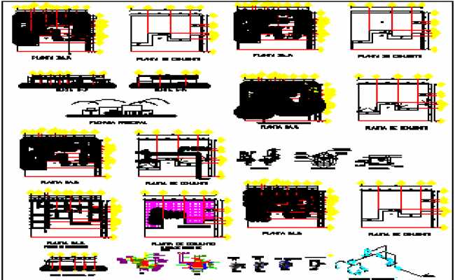 laboratory project dwg file