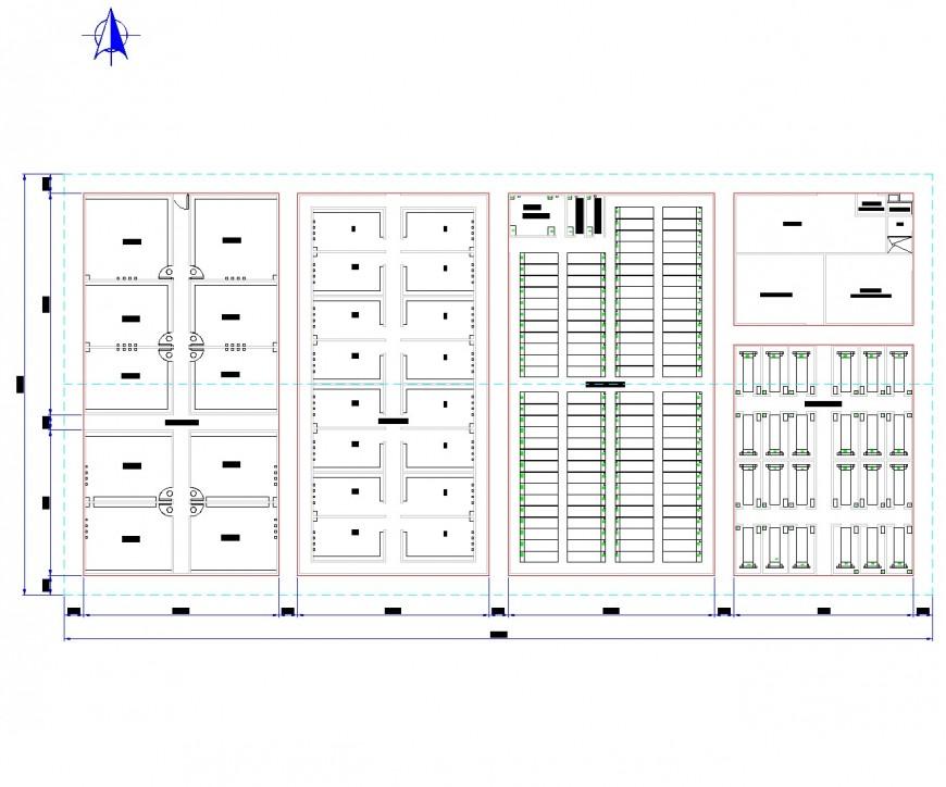 Landscaping pig farm plan autocad file