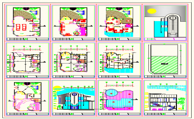 layout plan dwg file