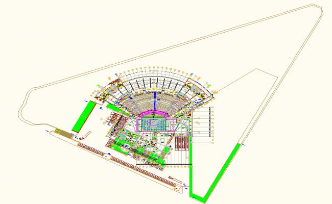 layout plan dwg file