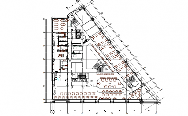 Hotel Layout Plan AutoCAD Drawings