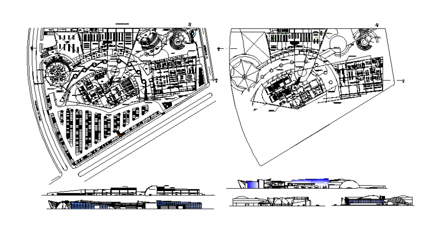 layout plan of a hotel complete concept