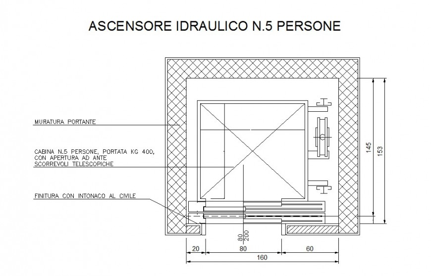 Layout plan of a site , structural detail detail dwg file