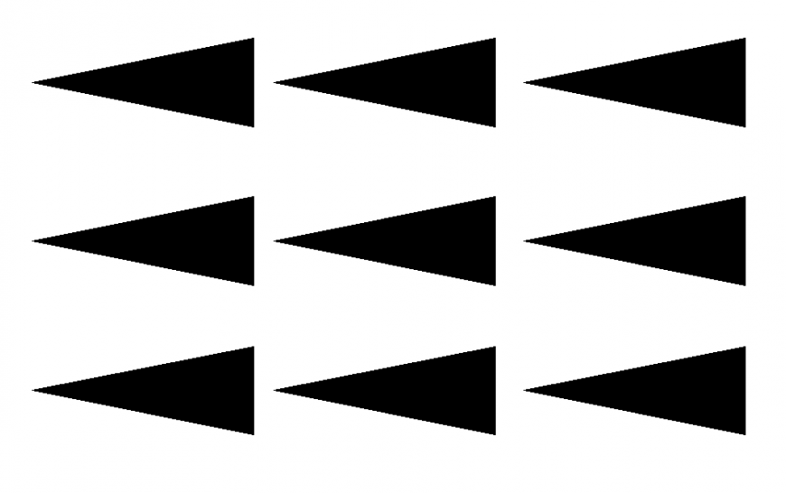 Left Side Arrow Block Detail