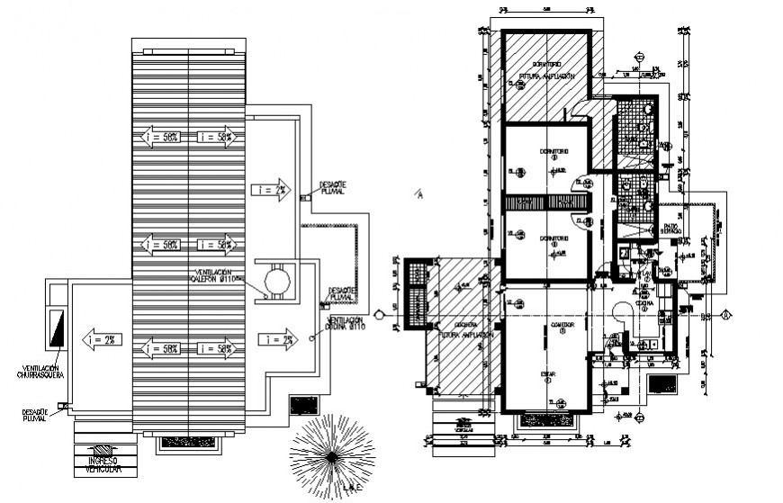 Living place drawing cad file
