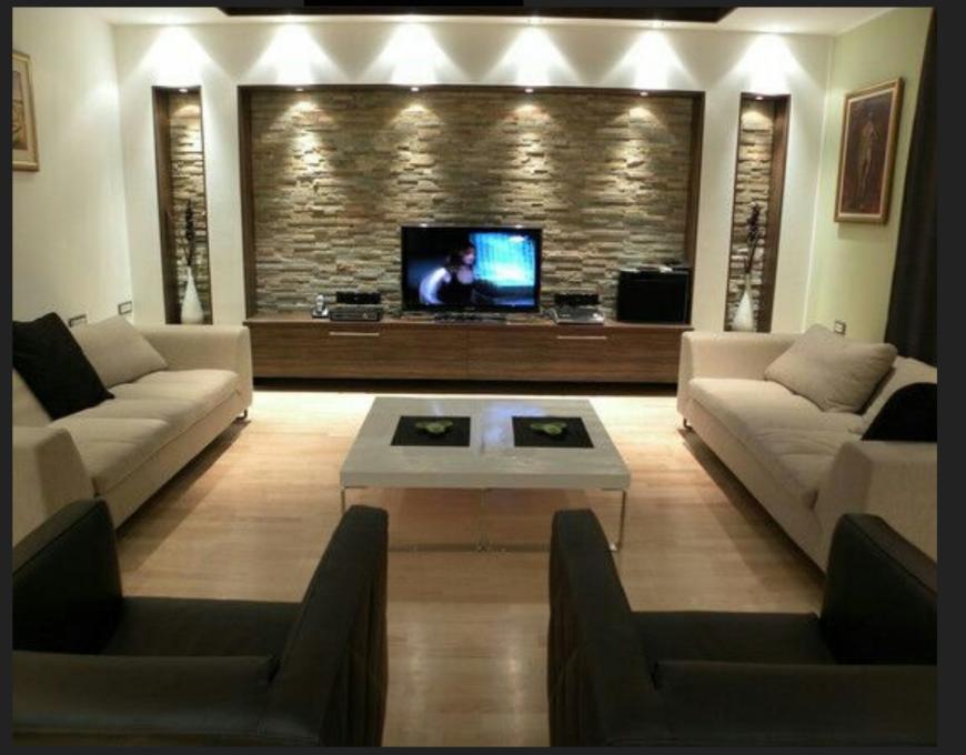Living room 3 D modal detail dwg file