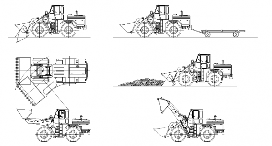 Loader Construction Vehicle Detail