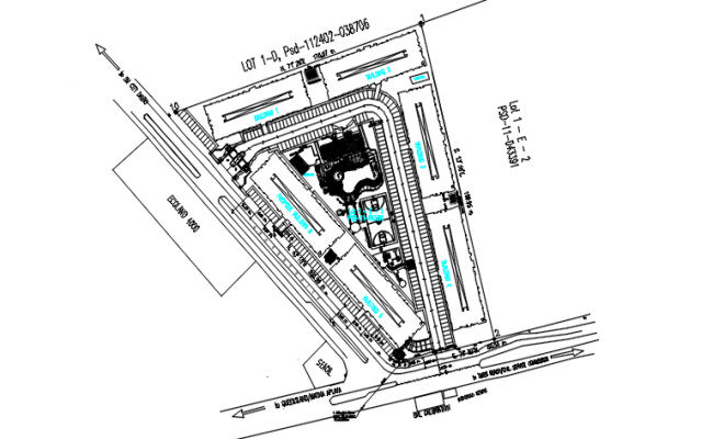 location plan for cistern tank