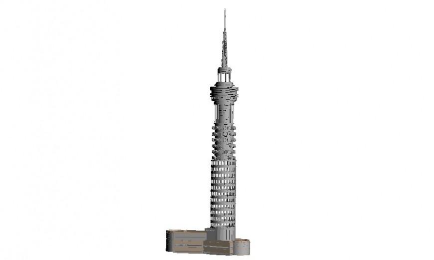 London tower detail 3d model sketch-up file
