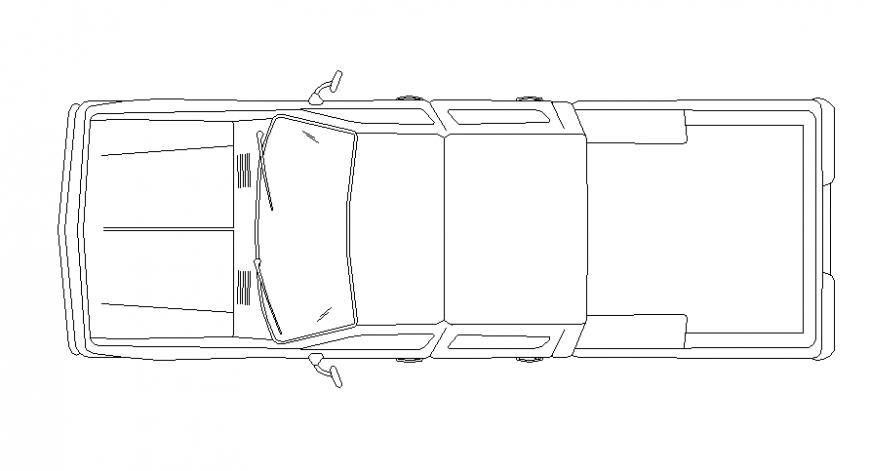 Lorry 2d block detail file