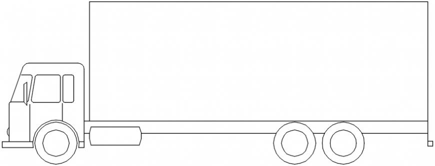 Lorry 2d block detail files