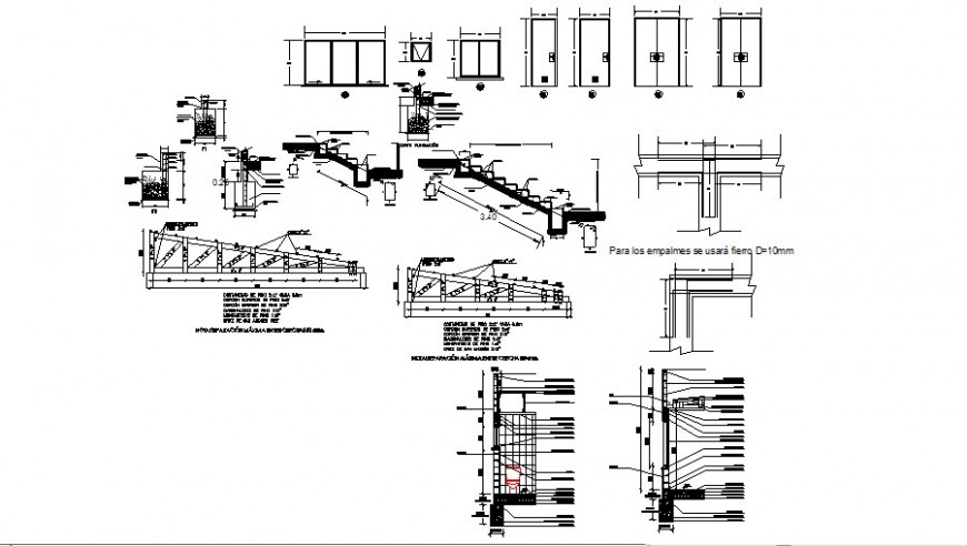 Many RCC units details in this autocad file