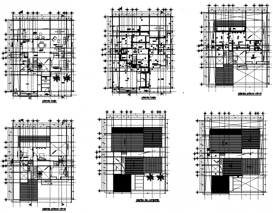 Map finishes house room plan autocad file