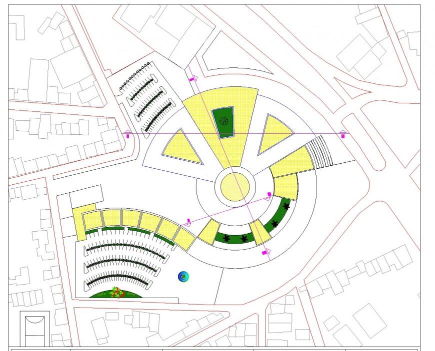 Market Communal detail layout file