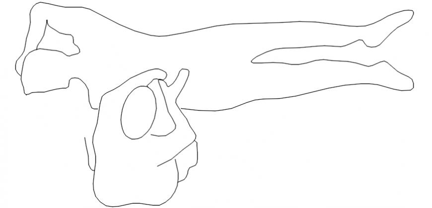 Massage room people elevation blocks cad drawing details dwg file