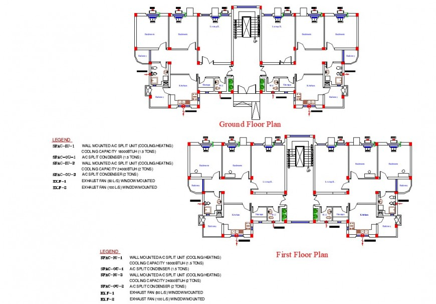 Mech. Building for Families planning layout file