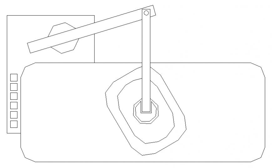 Medical room furniture blocks cad drawing details dwg file
