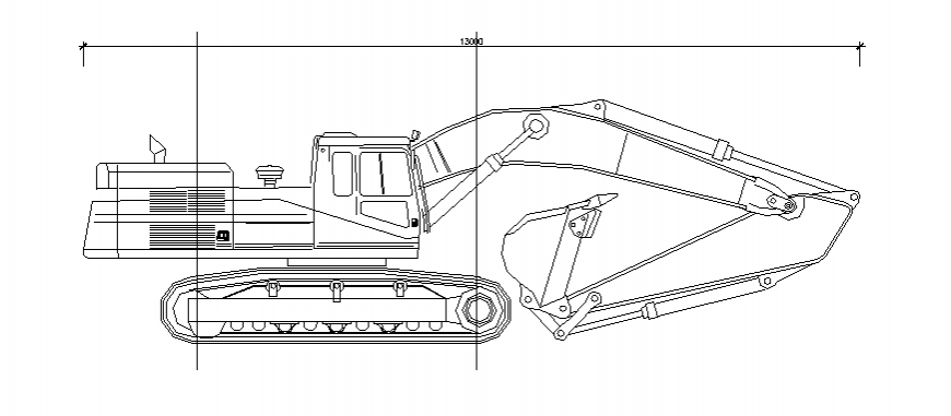 Membrane constructive truck vehicle block cad drawing details dwg file