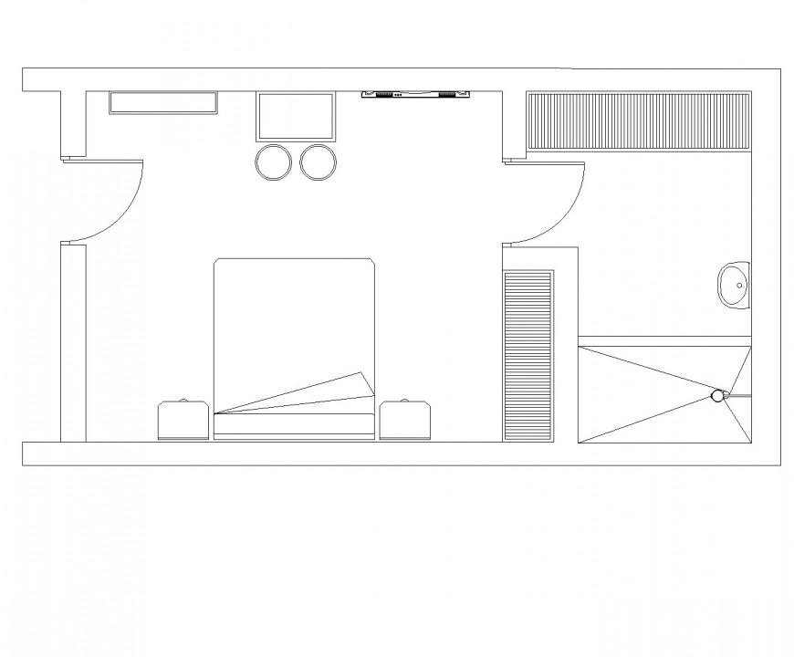 Metal garden gate plan layout file