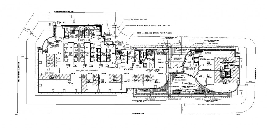 Metal processing plant floor plan distribution cad drawing details dwg file