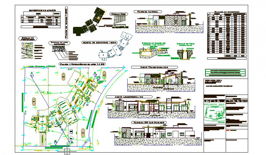Municipal Corporation Building project design drawing