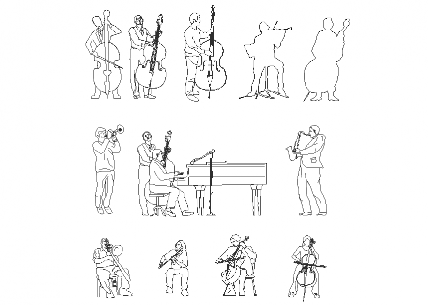 Musicisti people layout file