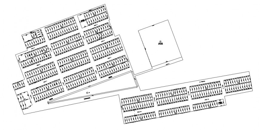 New moro city architecture town planning and map cad drawing details dwg file