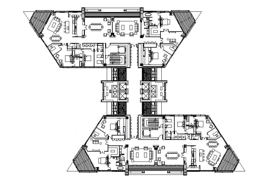Ningbo Gateway drawing plan autocad file