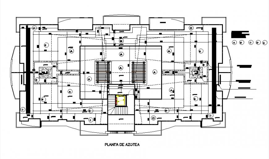 Numbering room Social area condominium